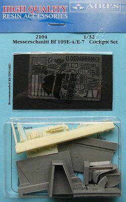 Aires 1/32 Messerschmitt Bf109 E-4/E-7 Cockpit Set for Eduard kit 2104