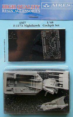 Aires 1/48 F-117A Nighthawk Cockpit Set for Tamiya kit 4367