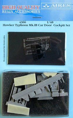 Aires 1/48 Hawker Typhoon Mk.IB Car Door Cockpit Set for Hasegawa kit 4366