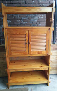 Large Solid wood / pine book shelf