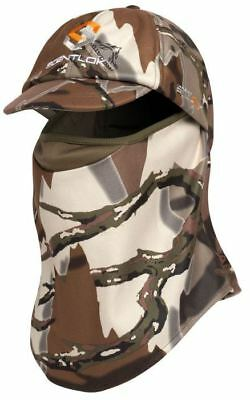 be239730833 NEW SCENTLOK Predator Camo Full Season Ultimate Headcover FaceMask Hat  Gator Cap