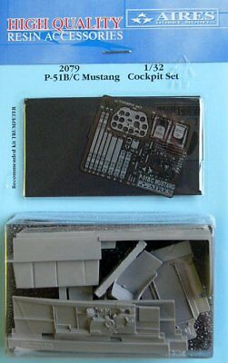 Aires 1/32 P-51B/C Mustang Cockpit Set for Trumpeter 2079/*