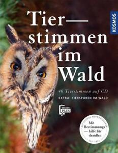 HOLGER HAAG Tierstimmen im Wald CD + Leporello - 40 Tierstimmen auf CD