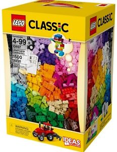 Classic LEGO Large Creative Box - 1,500 piece - NEW - 10697