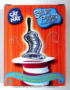 Dr-Seuss-Cat-In-The-Hat-Christmas-Ornament-Silver-Plated-The-Magic-Hat ...
