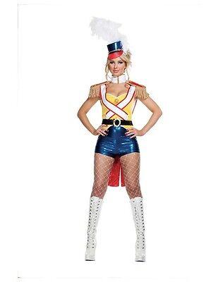 Sexy Starline Deluxe Toy Soldier Nutcracker 5pc Costume S2034 - Toy Soldier Nutcracker Costume