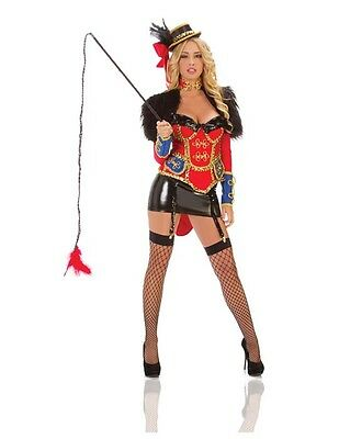 Sexy Starline Circus Showgirl Ring Leader 5pc Costume #S1013