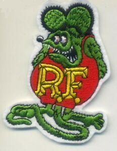 CAFE-RACER-ROCKERS-59-TON-UP-BOYS-BIG-DADDY-RatFink-RAT-FINK-IRON-ON-PATCH-A
