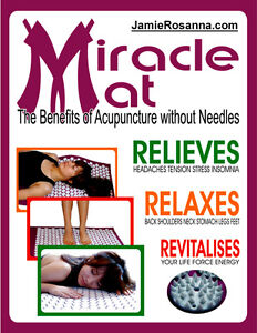 Miracle Mat - Benefits of Acupuncture without Needles