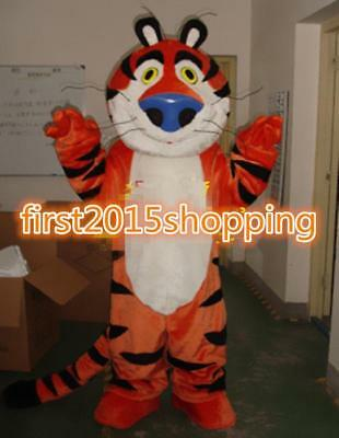 Tiger Mascot Costume Outfit Dress Adult Gentleman Smiling Suit Professional Xmas (Tiger Mascot Suit)
