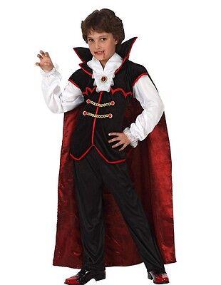 COSTUME DA VAMPIRO DRACULA BAMBINO Halloween Carnevale 110 10329 (Kostüm Da Vampiro)