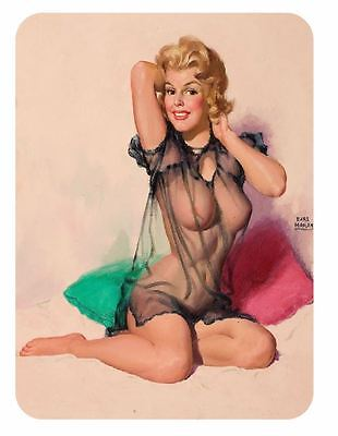 Vintage Style Pin Up Girl Sticker P23 Pinup Girl Sticker