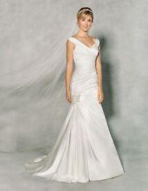 Anna Sorrano Wedding Dress Size UK 18