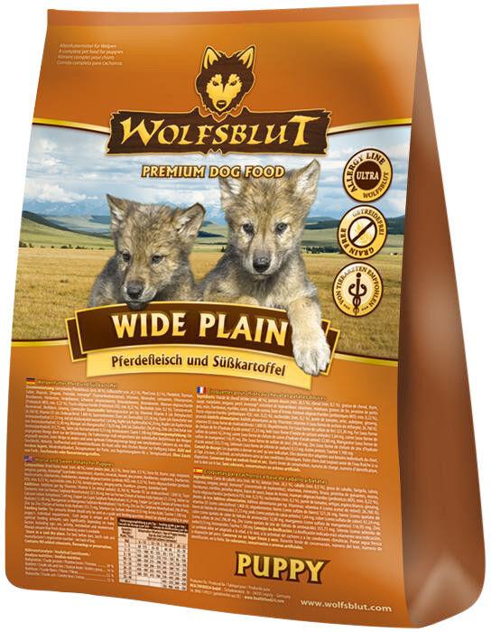 Wolfsblut Wide Plain Puppy 15 kg Hundefutter mit Pferdefleisch