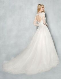 Brand new unword wedding dress