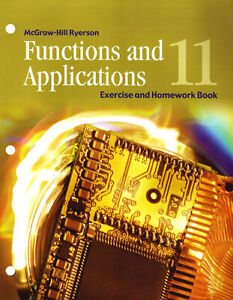 FUNCTIONS AND APPLICATIONS 11 EXERCISE AND HOMEWORK BOOK