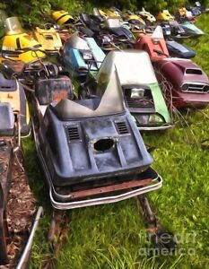 FREE PICKUP OF OLD SNOWMOBILES / MOTORCYCLES / ATVS / PWC