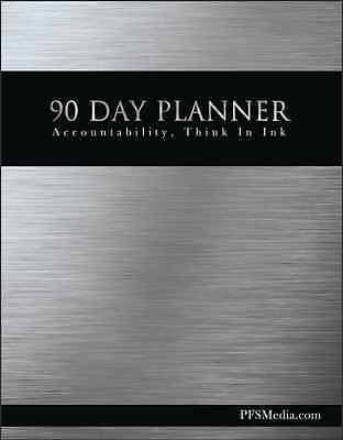 Primerica 90 Day Daily Planner - Desktop Size. 8.5 X 11