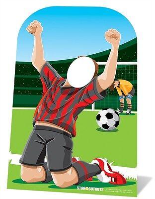 Football Sport Event Child Sized Cardboard Cutout Stand In. Fab Football - Football Cardboard Cutouts