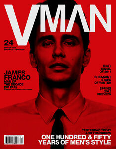 Man magazine James Franco The decades issue Spring fashion Best music