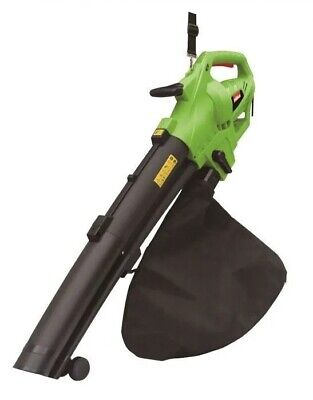 Hilka 3000w Leaf Blower & Vacuum - 45L Bag - 10m Cable - Various Speed Settings