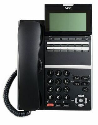 1 Year Warranty Nec Dtz-12d-3 Bk Tel Dt400 Phone 650002 Black Refurb Warranty