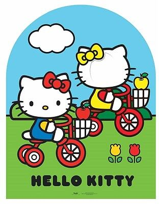 Hello Kitty and Mimmy Cardboard Cutout Stand In Great fun for photos at Parties (Photo Stand Ins For Parties)