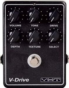 VHT V-DRIVE OVERDRIVE ELECTRIC GUITAR EFFECTS PEDAL