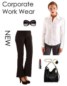 Women'S Fitted Work Blouses 6