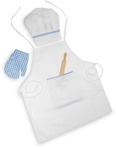 Abbigliamento ristorazione da cuoco/cuoca con accessori per bambino/bambina