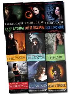 Weather-Warden-series-collection-9-Books-Set-Rachel-Caine-morganville-vampires