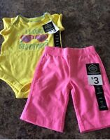 New with tags 3-6 month outfits both for $6