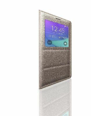 Usado, Samsung S-View Flip Cover for Samsung Galaxy Note 4 - Bronze Gold comprar usado  Enviando para Brazil