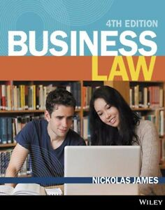 Business law 4th Edition by Nickolas James
