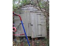Shed repair service...shed disposal shed painting