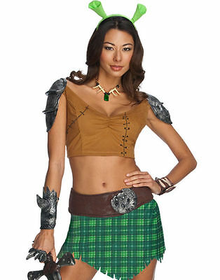 Shrek Forever After Princess Fiona Warrior Sexy Party Halloween Costume S or L (Halloween Costumes Shrek)