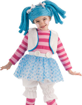 Girls Deluxe Mittens Fluff And Stuff Ragdoll Kids Halloween Costu