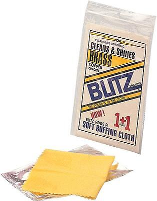 Blitz Copper Brass Chrome Metal Cleaning & Shine Cloth