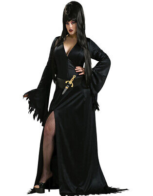 Mistress Of The Dark Elvira Gothic Plus Size Halloween Costume Plus Or Queen](Elvira Mistress Dark Halloween Costumes)