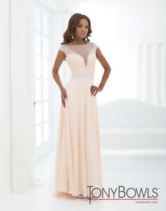 Champagne Prom Dress Gown