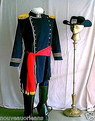 Civil War Reenactors Cosplay Union Officers Uniform Costume Large + Plus - Union Officer Uniform