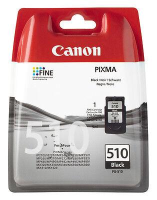 CANON ORIGINAL PG-510 DRUCKER PATRONE PIXMA MP250 MP280 MP495 MP270 MP490 online kaufen