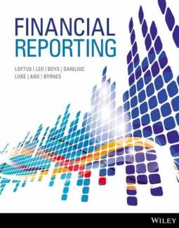 ★Financial Reporting 1st Edition [Solutions Manual + Test Bank]★