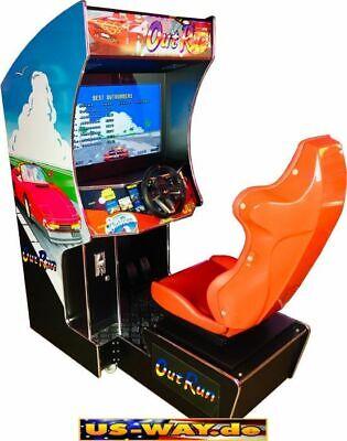 Crg-1 Classic Arcade Racing Tv Video Slot Machine Stand Unit Race Fahrsimulator