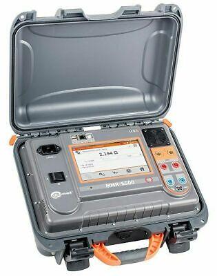 Sonel Mmr-6500 Micro-ohmmeter 100a Resistive 10a Reductive Low Resistance Dlro