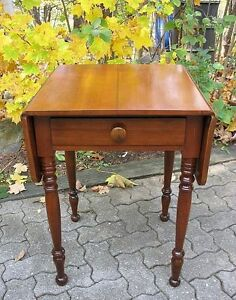 Antique Canadiana Side Tables or Night Stands