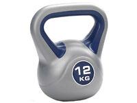 York Fitness Vinyl Kettlebell 12kg gym equipment