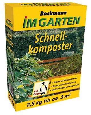 Schnellkomposter mit Guano Kompostbeschleuniger 2,5 kg für 3 m³