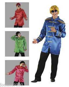 60s-70s-SGT-SERGEANT-PEPPER-HIPPIE-BEATLES-POP-STAR-FANCY-DRESS-JACKET-COSTUME