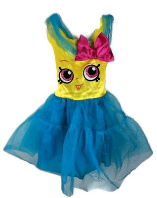 Tutu Halloween Costumes For Girls (SHOPKINS CUPCAKE QUEEN COSTUME GIRLS CHILD HALLOWEEN)